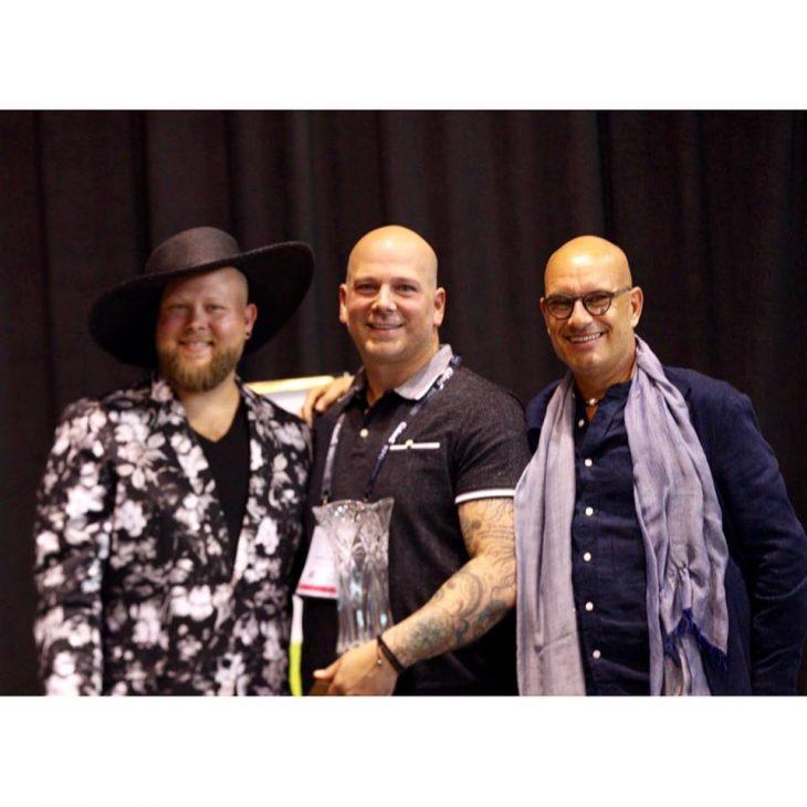Adam Havrilla of Artistic Blooms named the 2018 Iron Designer at IFE