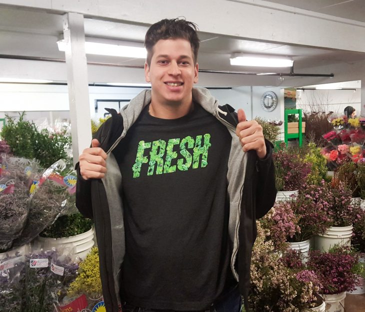 Ryan Black Of Jet Fresh Flowers gets recognized