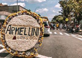 Armellini Logitics, participates in the Medellin flower festival